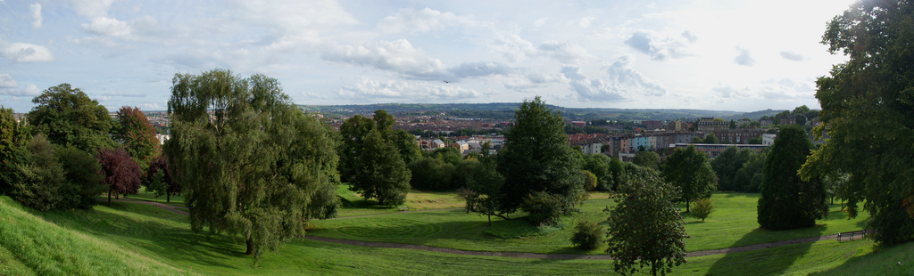 Cabot Tower Park Bristol Panorama View
