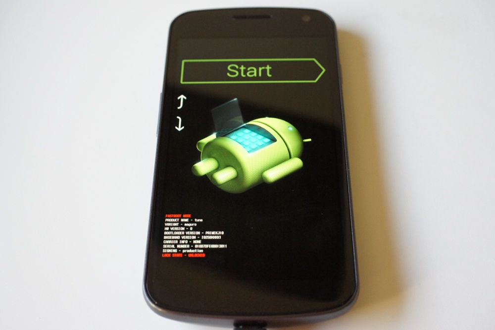 Flash Galaxy Nexus to latest Android